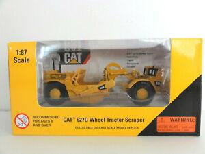 CATERPILLAR NORSCOT 55134 CAT 627G Scraper 1:87 NEW IN BOX