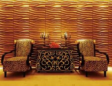 3D Wall Panel (Seawave-C) 1 carton contains 12 panels covering 64 sq/ft (Sale)