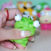 Cute Children Animal Eyes Toys Squeeze Keychain