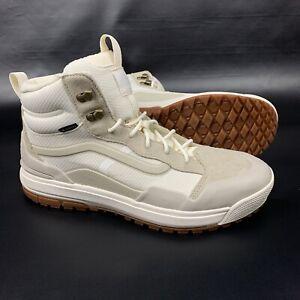 Vans Ultra Range EXO HI MTE Gore-Tex Shoes Oatmeal Marshmallow Mens Size 11.5