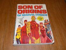 Son Of Origins (Fireside) First Print 1975 - X-Men #1, Daredevil #1, Avengers #1