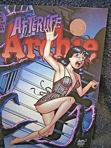 AFTERLIFE With ARCHIE #5 -  SEXY VERONICA cover VARIANT by PEPOY !!