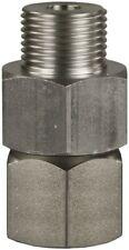 "Stainless Steel High Pressure Swivel Fitting Adaptor Water Wash 350 Bar 1/2"" BSP"