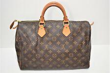 Louis Vuitton, Sac speedy 35 en toile monogram