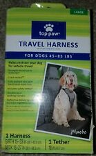 Top Paw, Travel Dog Harness, 1 Harness, 1 Tether,  Large Dogs, 45 to 85 Lbs 5045