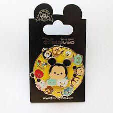 Hong Kong Disneyland HKDL Disney Tsum Tsum Pin Mickey Goofy Dumbo Donald Scrump