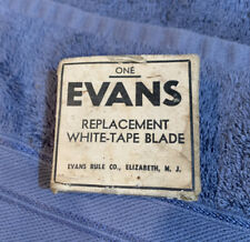 vintage Evans replacement White-Tape Blade in box,