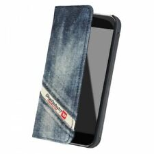 Genuine Official Diesel Cosmo 5 iPhone 5  5s  SE Stylish Booklet Case – Indigo