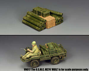 KING & COUNTRY VIETNAM WAR VN057 AMMO LOAD FOR THE MULE MIB