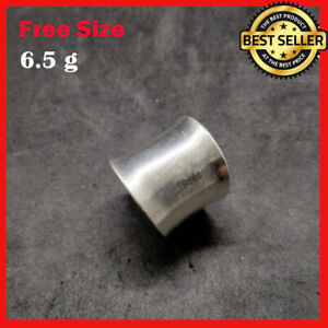 Fine Silver Rings 925 Sterling Adjustable Size Vintage Plain Fashions Shinning
