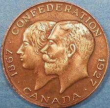 1927 Confederation Medal   ID #62-8
