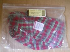 Longaberger 2009 Christmas Snowflake Cookie Basket Liner Holiday Plaid #23721293
