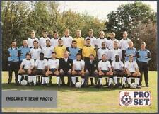 PRO SET 1991- #100-ENGLAND TEAM PHOTO