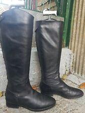 bottes noires en cuir GUESS pointure 36 occasion en bon état général pointure