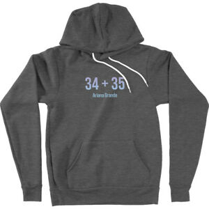 34 + 35 Grande Inspired Merch Music Song Positions Fan Gift Hoodie Sweatshirt