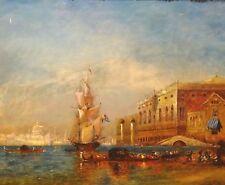 Künstlerische Malereien der 1950-1999er Seefahrt & Schiffe
