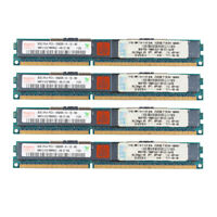 4x For Hynix 8GB 2RX4 DDR3 1333MHz PC3-10600R Reg-DIMM ECC Server Memory RAM @ES