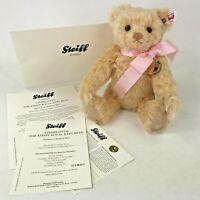 "Steiff Danbury Mint Royal Baby Charlotte Teddy Bear Princess Jointed 664809 10"""