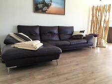 Echte Leder - Couch (violett)