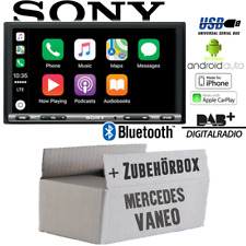 Sony Radio für Mercedes Vaneo W414 Bluetooth DAB+ Apple CarPlay Android Auto USB