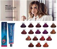 Wella Koleston Perfect Professional Hair Color Tint Dye - Vibrant Reds - 60 ml