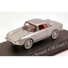 ALPINE RENAULT A108 COUPE' 2+2 1961 SILVER 1:43 Norev Auto Stradali Die Cast