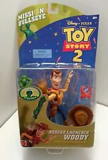 "Disney Pixar Toy Story 2 ""Rescue Launchin Woody"" Action Figures"