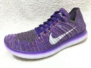 Nike Free RN Flyknit Grand Purple Women 7 / 38