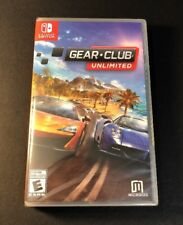 Gear Club Unlimited (Nintendo Switch) NEW
