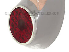 Rear Light Lens Red (Real Glass) for Oval Awo, EMW , BK, IWL, ES, MZ RT
