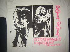 Vintage Concert T-Shirt ROD STEWART UNPLUGGED 93  NEVER WORN NEVER WASHED