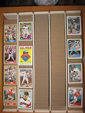 1987 TOPPS Baseball  Large Lot Approximately  1184 Cards