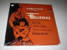 SEALED Original Cast THE BELIEVERS: THE BLACK EXPERIENCE IN SONG Voices Inc. RCA