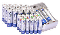 16x AA 16x AAA NiMH rechargeable Chargeur de batterie VENTE