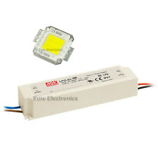 20W Warm White High Power LED Lamp Panel Mean Well AC/DC LED Driver LPC-35-700