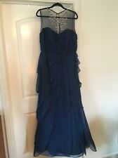 Brand-new Adrianna Papell Women's Formal Ball Gown, Egyptian Teal, Size 14.