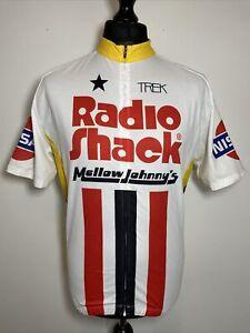 Bontrager Radio Shack Mellow Johnny's Nissan Cycling Jersey Shirt 2XL RARE