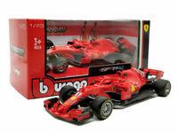 SEBASTIAN VETTEL FERRARI F1 1:43 Car Model Diecast Formula One Toy New with Halo