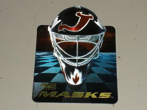1996-97 Pinnacle Masks Die Cut #4 Martin Brodeur