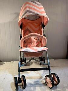 My Babiie MB02 Billie Faiers Pink Chevron Lightweight Stroller