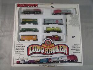 Bachmann N Scale Long Hauler Train Set #24406