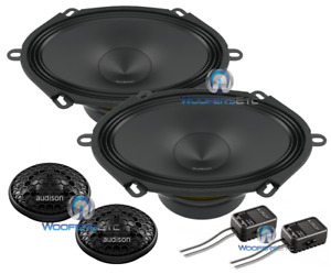 "AUDISON APK570 5""x7"" 6""X8"" 4-OHM 300W COMPONENT SPEAKERS TWEETERS CROSSOVERS NEW"