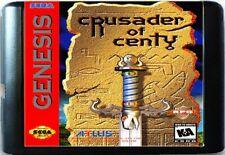 Crusader Of Centy (1995) 16 Bit Game Card For Sega Genesis / Mega Drive System