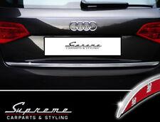 Audi A4 B8 Tipo 8K Avant Allroad Cromo Modanatura 3m Tuning Barra Posteriore