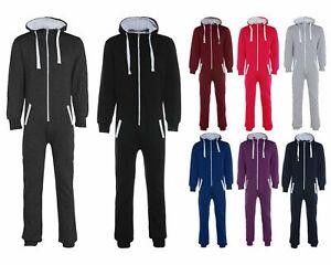 Unisex Adults Plain 1Onesie - Men Women All in One Jumpsuit Playsuit