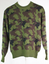 Vintage Winchester Camouflage Hunting Crewneck Sweater Size M Camo