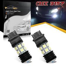 Pack2 3157 3155 Super Power Led 20W Reverse Backup Light Cree Xenon White Bulbs