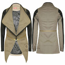Cotton Blazer Cropped Coats & Jackets for Women