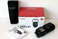 Canon Speedlite 600EX-RT + CP-E3 External Battery Pack