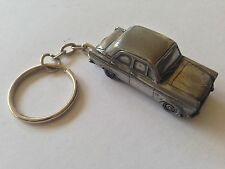 Ford 100E 4 Door Saloon ref82   3D split-ring keyring FULL CAR